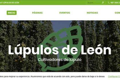 Lúpulos de León página web